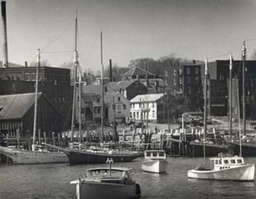 historical photo of harbor