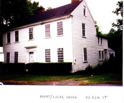 hunt/locke house 72 elm st