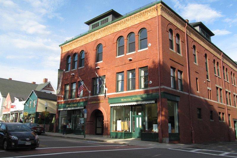 Camden opera house exterior