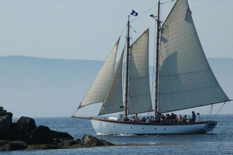 Ship at sail