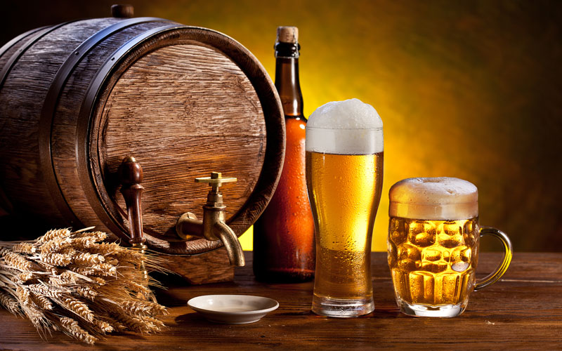 Beer Kek and Glasses