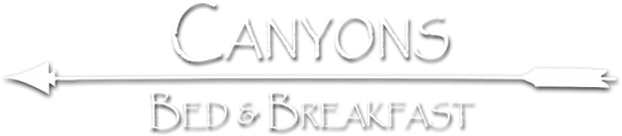 Canyons Bed and Breakfast Logo