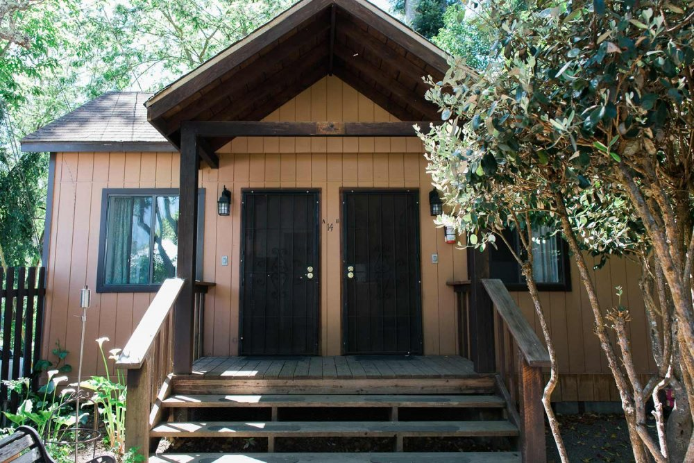 Exterior of a cabin
