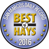 San Marcos Daily Record, Best of Hays, 2016