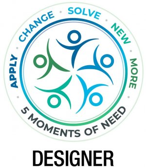 Five Moments of Need Logo Designer