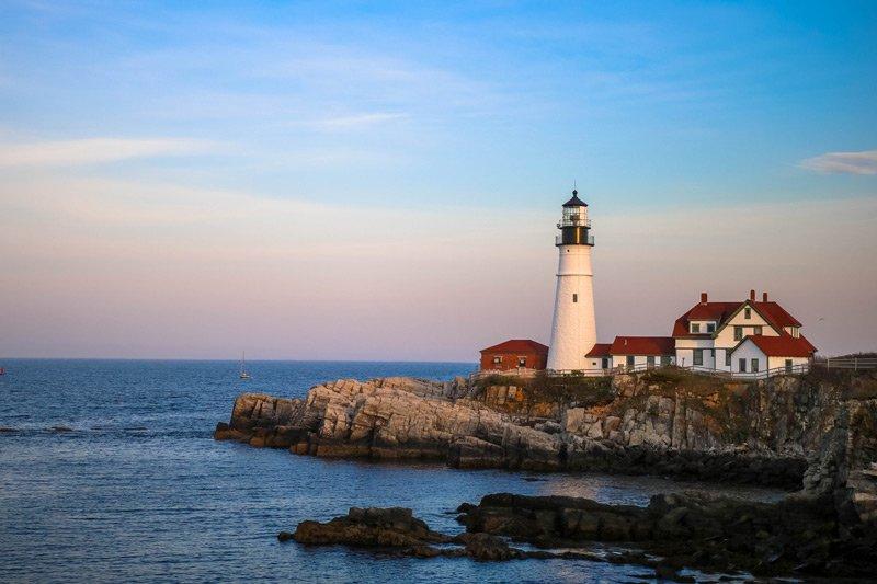 Spouter Inn Maine lighthouse
