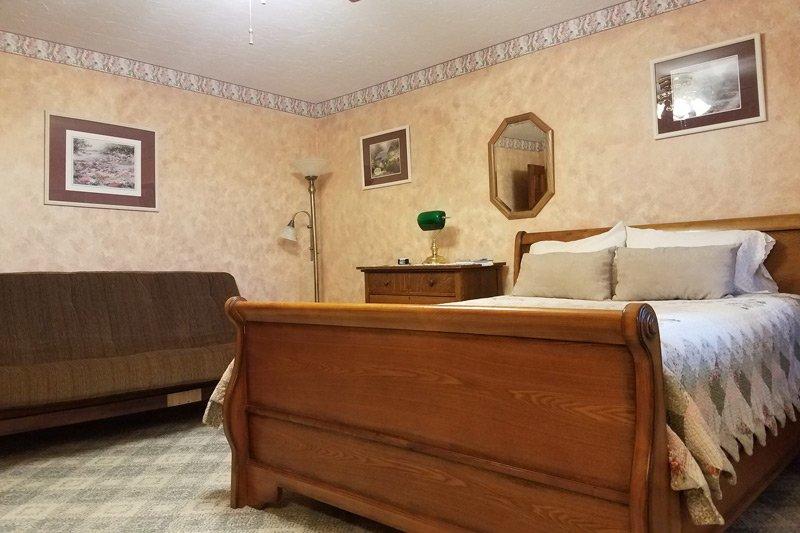 Victorian Room bed