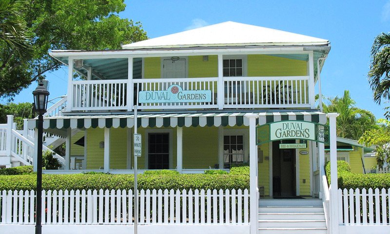Exterior of Duval Gardens B&B