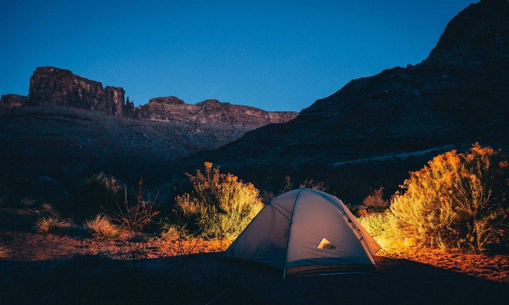 A tent