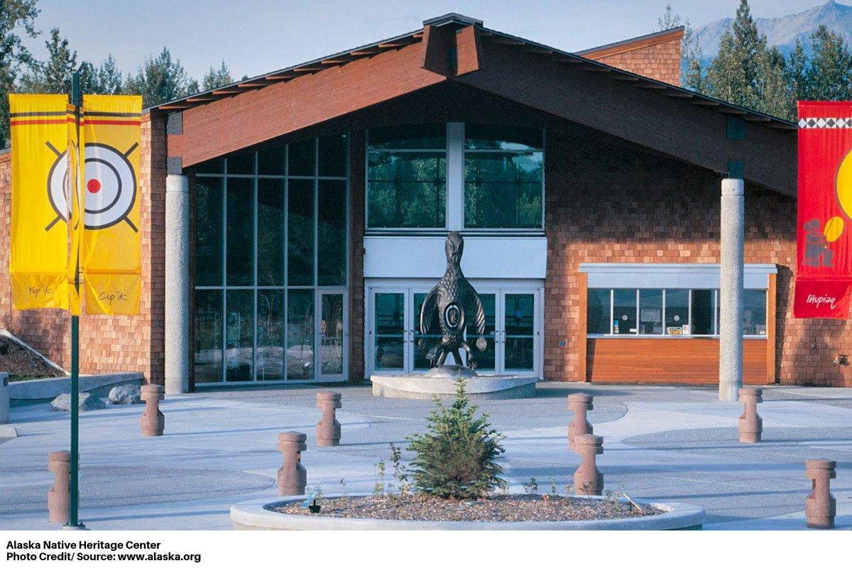 Alaska Native Heritage Center exterior