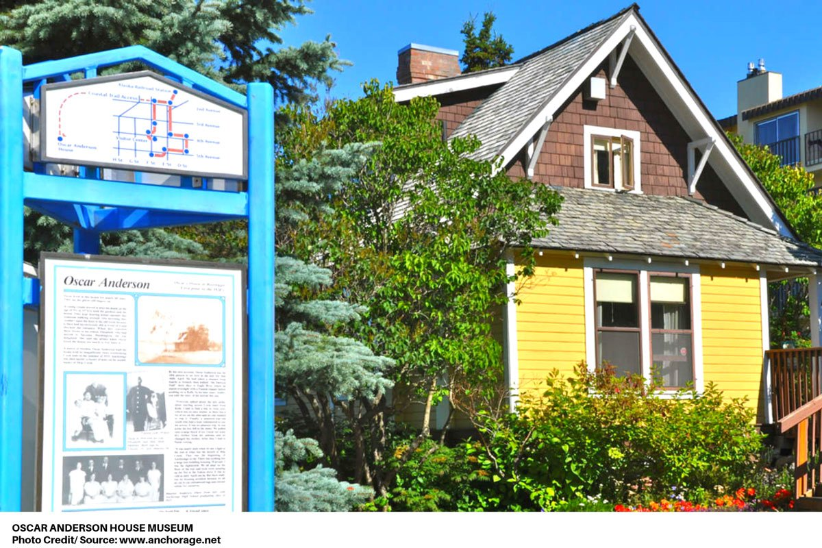 Oscar Anderson House Museum tour map