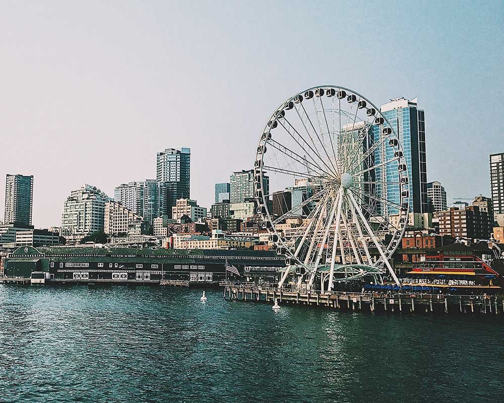 Ferris Wheel in Seattle