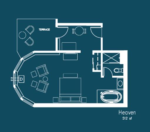 Heaven Floor Plan