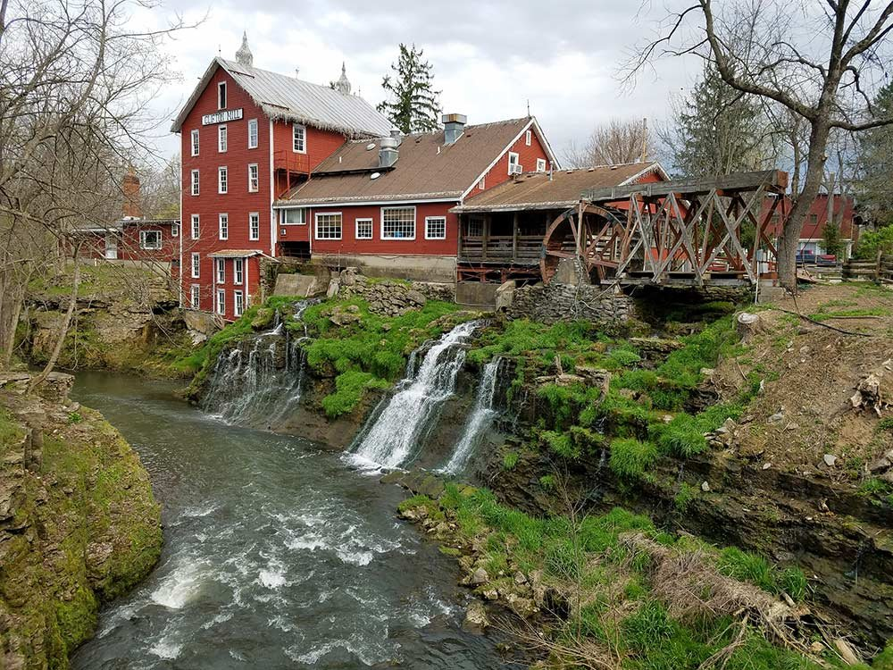 historic clifton mill on the river