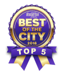 Best of the City 2018 Top 5