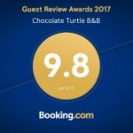 9.8 Rating on Booking.com