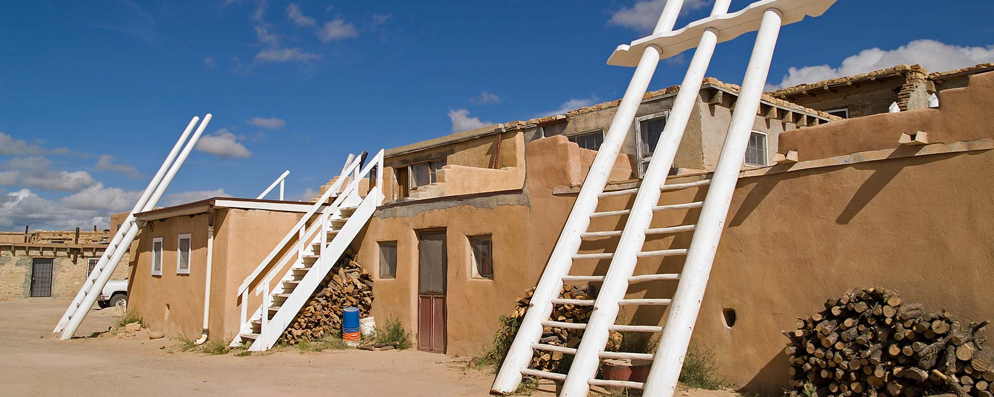 Indian Pueblo in New Mexico