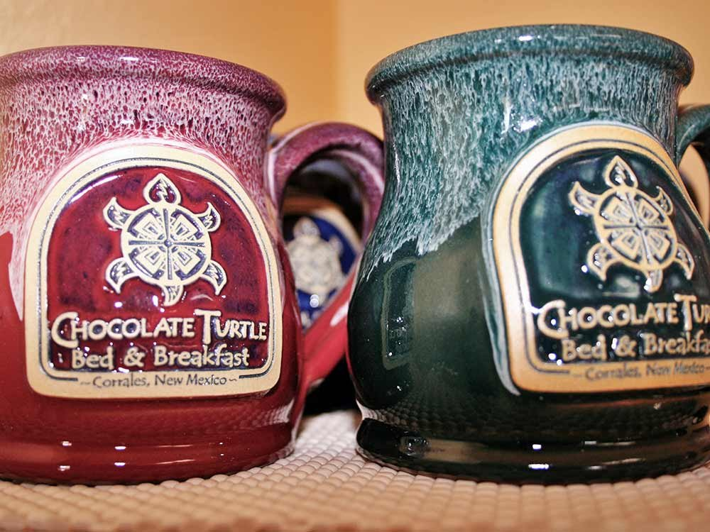 Chocolate Turtle Mugs