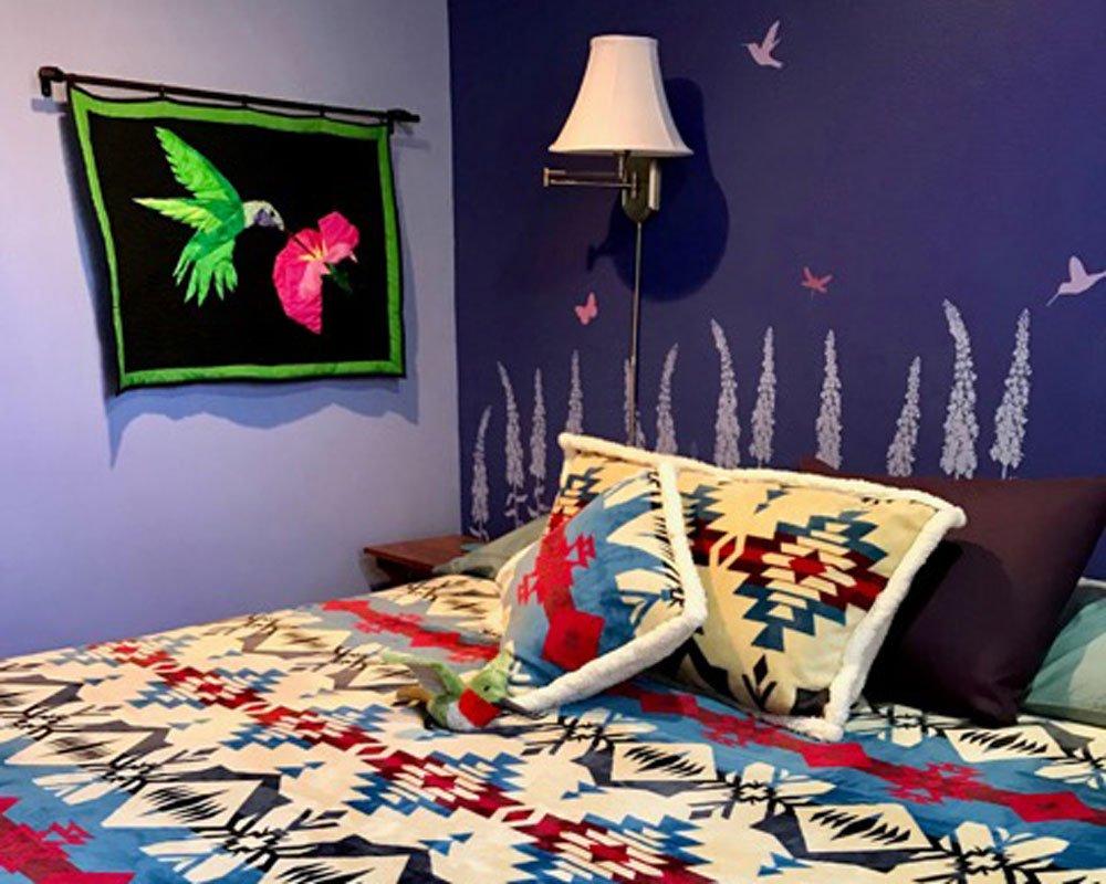 Rainbow Style Bedroom