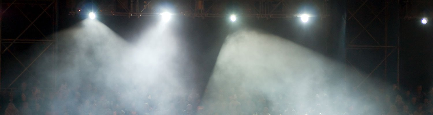 Theatrical Lights Over Audience
