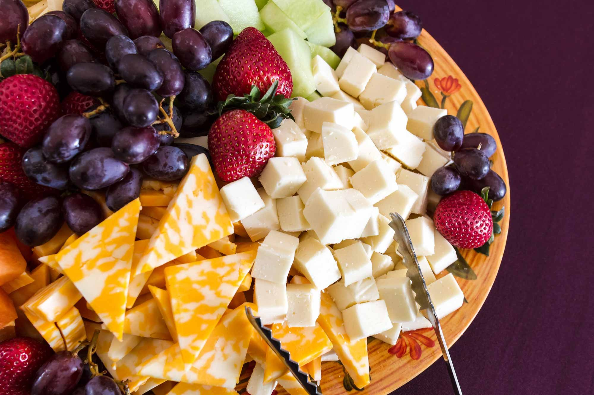 Cheese Platter with Fruit