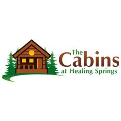Cabins at Healing Springs logo