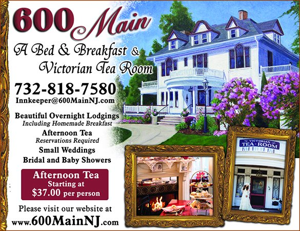 600 Main, a bed and breakfast and victorian tea room, beautiful overnight lodgings, including homemade breakfast