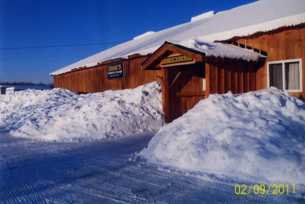 Crane's Snowmobile Museum
